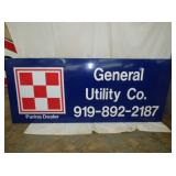 35X82 EMB. PURINA DEALER SIGN