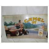 35X59 EMB. CAMEL GT SIGN