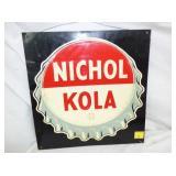 14X14 NICHOL KOLA CAP SIGN