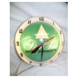 PINE STATE DOUBLE BUBBLE CLOCK