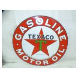 2ND VIEW OTHERSIDE TEXACO MOTOR OIL SIGN