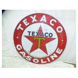 2ND VIEW OTHERSIDE PORC. TEXACO SIGN