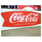 2ND VIEW CLOSEUP COKE FISHTAIL SIGN