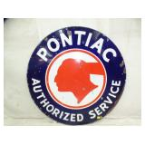 42IN ORC. PONTIAC DEALER SIGN