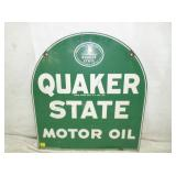 2ND VIEW OTHERSIDE QUAKER STATE SIGN