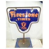 PORC. FIRESTONE TIRES SIGN