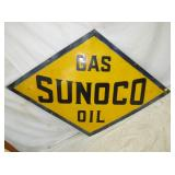 48X71 PORC. SUNOCO OIL DIAMOND SIGN