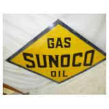 2ND VIEW CLOSEUP SUNOCO OIL SIGN