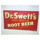 32X56 EMB. DR. SWETTS ROOTBEER SIGN