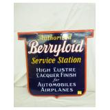21X23 PORC. BERRYLOID SERVICE SIGN