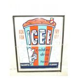 40X49 ICEE DRINK SIGN