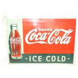19X27 EMB. COKE SIGN