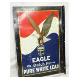 13X19 EAGLE LEAD FLANGE SIGN