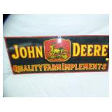 17X44 PORC. JOHN DEERE IMPLEMENTS SIGN