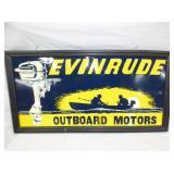 21X43 EVINRUDE OUTBOARD MOTORS SIGN