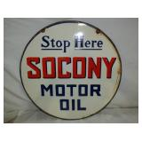 2ND VIEW OTHERSIDE OPRC. SOCONY SIGN