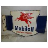 16X24 MOBILOIL FLANGE SIGN