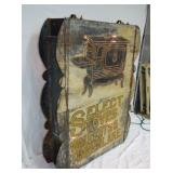 7TH VIEW DOUBLE SIDED PUNCH TIN SIGN