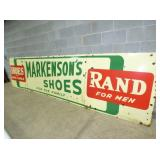 3RD VIEW LEFT SIDE MENS SHOE SIGN