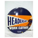 3RD VIEW EMB. HEADLIGHT CLOTHES SIGN