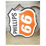 70X70 PORC. PHILLIPS 66 SIGN