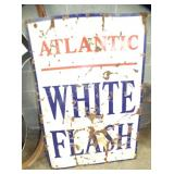 36X52 PORC. WHITE FLASH ATLANTIC SIGN
