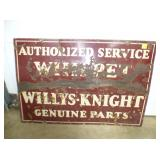 2ND VIEW WHIPPET/WILLYS SIGN