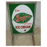 BREYES ICE CREAM SIDEWALK SIGN