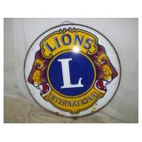 30IN PORC LIONS CLUB W/ BAND