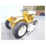 3RD VIEW REAR LAWN TRACTOR