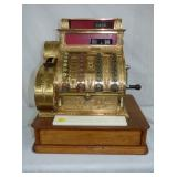 BRASS NATIONAL 441 CASH REGISTER