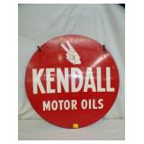 24IN KENDALL OIL SIGN