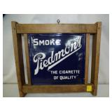 12X12 PORC PEIDMONT CIGARETTE SIGN