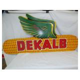 32X63 DEKALB MASONITE SIGN