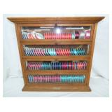 26X27 RUSSEL & SON RIBBON CABINET