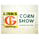 24X48 FUNKS CORN SHOW SIGN