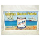 29X47 INTERLUX MARINE PAINT EMB. SIGN
