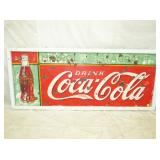 30X72 COCA COLA TIN SIGN