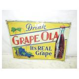 20X28 EMB GRAPE OLA SIGN