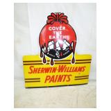 42X44 SHERWIN WILLIAMS PAINT SIGN
