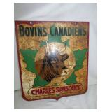 20X23 BOVINS CANADIENS SIGN