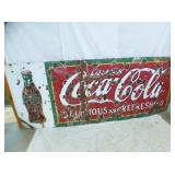 48X118 PORC COKE SIGN