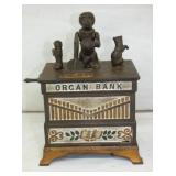 6X7 ORIG CAST ORGAN BANK