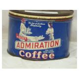 1922 ADMIRATION COFFEE TIN