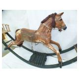 2ND VIEW CLOSEUP W/ WOODEN HORSE