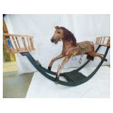3RD VIEW OTHERSIDE SEESAW HORSE