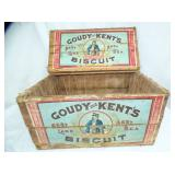 12X22 GOUDY-KENTS BISCUIT BOX