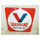 30IN VALVOLINE MOTOR OIL SIGN