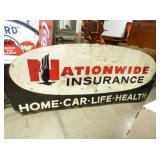 48X115 NATIONWIDE METAL SIGN