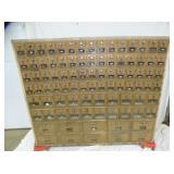 49X57 BRASS POST OFFICE BOX
